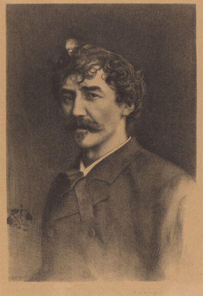Thomas Robert Way, 'Portrait of Whistler'