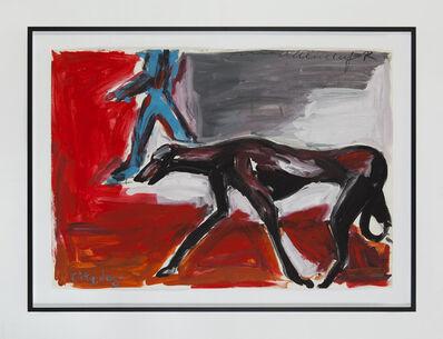 Helmut Middendorf, 'Dog-NY', 1982