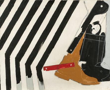 Mario Schifano, 'Dopo le Strisce', 1965