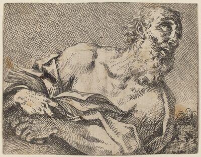 Pietro Rotari after Antonio Balestra, 'Saint Jerome', 1725