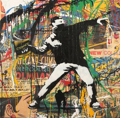 Mr. Brainwash, 'Banksythrower', 2014