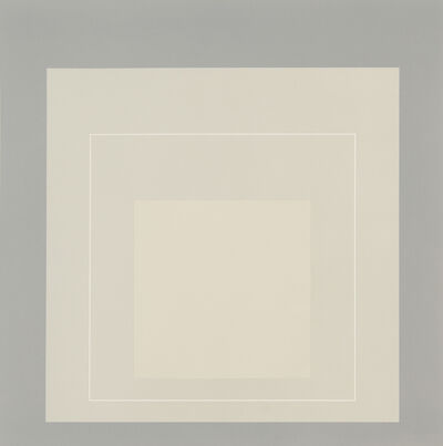Josef Albers, 'WLS XIV from White Line Squares (Series II)', 1966