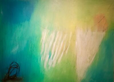 Ulla Neigenfind, 'Enigma: White, Naples Yellow, Blue', 2015