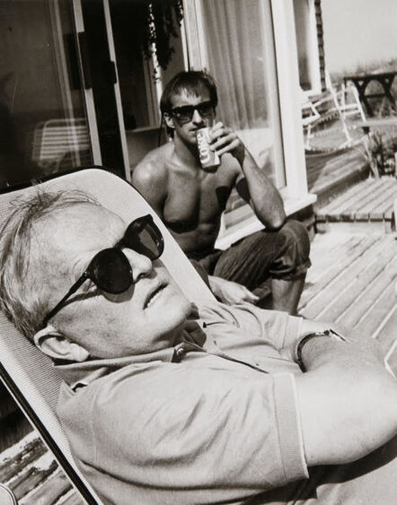 Andy Warhol, 'Andy Warhol, Truman Capote and Jon Gould in Montauk'
