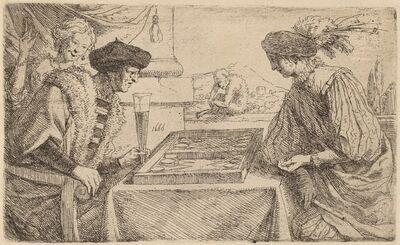 Leendert van der Cooghen, 'The Board Players'
