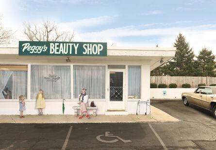 Julie Blackmon, 'Peggy's Beauty Shop', 2015