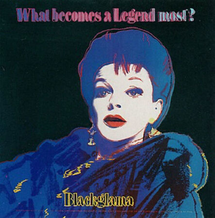 Andy Warhol, 'Blackglama (Judy Garland F&S 351)', 1985