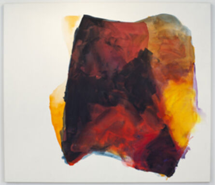 Mary Weatherford, 'love forever (cave) for MW', 2012