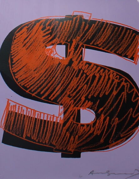 Andy Warhol, 'Dollar Sign (FS II.276)', 1982