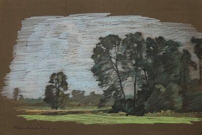 Alexander Shilling, 'Spring Landscape', ca. 1910