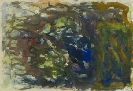 Eugène Leroy, 'Compositie', 1967