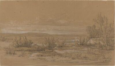 Antoine Jean Duclaux, 'Landscape near Vourlis', ca. 1830