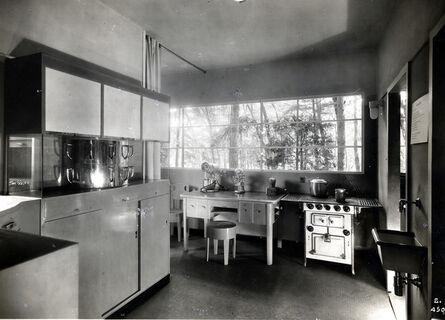 Gruppo 7, 'Casa Elettrica, cucina, IV Triennale di Milano', 1930