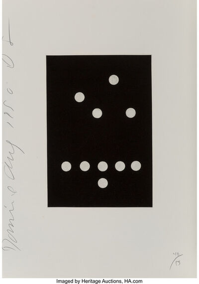 Donald Sultan, 'Untitled from Dominos', 1990