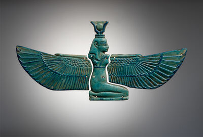 Unknown Egyptian, 'Winged Isis Pectoral', 1075 BCE-712 BCE