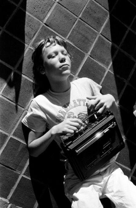 Stephen Shames, 'Teenage Boy listening to the radio, New-York City', 1976