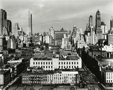 Brett Weston, 'Midtown New York', 1945-printed 1951
