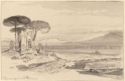 Edward Lear, 'Campagna di Roma', 1884/1885