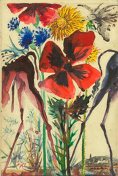 Salvador Dalí, 'Pinona et Liviana, les ânesses du meunier et de la meunière', ca. 1952-53