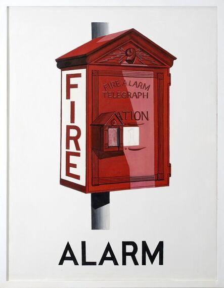 Vern Blosum, 'Alarm', 1964