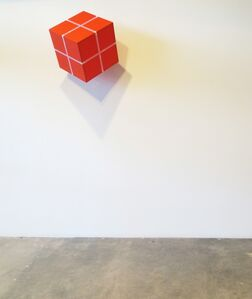 William Metcalf, 'Cube Suspended From a Point', 2004