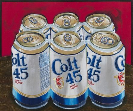 Tom Sanford, 'Six Pack Still Life (Colt 45)', 2020