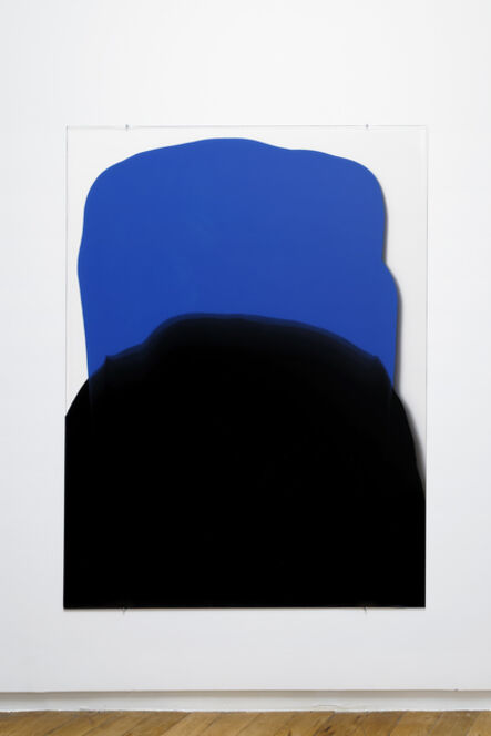 Mel O'Callaghan, 'En Masse (blue and black heaped)', 2017
