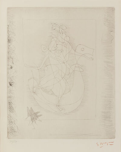 Georges Braque, 'La Theogenie d'Hesiode', c. 1932