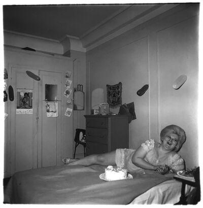 Diane Arbus, 'Transvestite at her birthday party', 1969