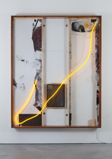 Joris Van de Moortel, 'The transparency of glass and the glue of neon (working title)', 2016