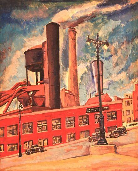 Todros Geller, 'Untitled (Factory)'