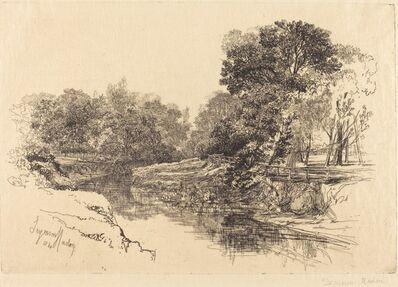 Francis Seymour Haden, 'A River in Ireland', 1864