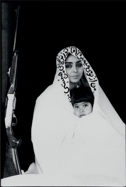 Shirin Neshat, 'Women of Allah', 1994