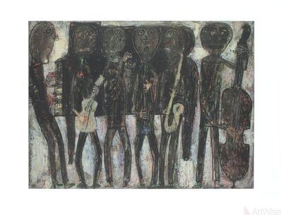Jean Dubuffet, 'Jazz Band', 1990