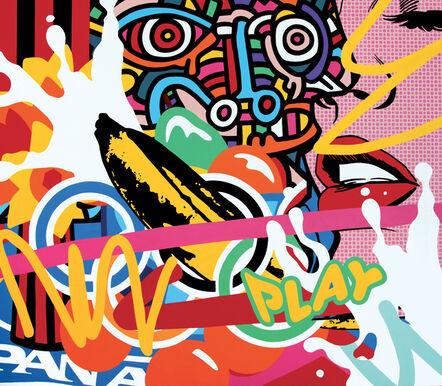 Speedy Graphito, 'Play', 2017