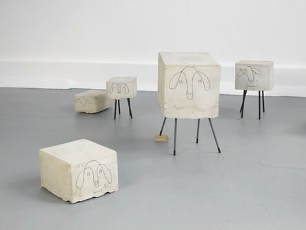 Judith Hopf, 'Flock of Sheep (detail)', 2013