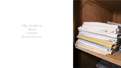 Anna Fox, 'My Mother's Cupboards and My Father's Words (13)', 1999