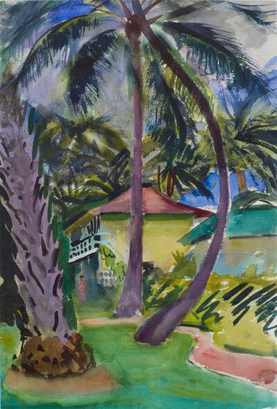 Charles Hopkinson, 'Courtyard, Honolulu', 19th -20th Century