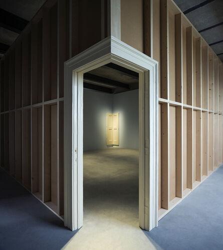 Robert Gober, 'Corner Door and Doorframe (Installation view)', 2014-2015