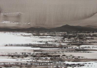 David Middlebrook, 'Rain on the Desert', 2016-2017