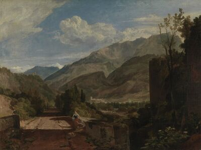 J. M. W. Turner, 'Chateau de St. Michael, Bonneville, Savoy', 1802-03