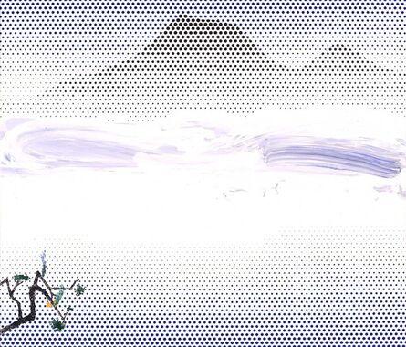 Roy Lichtenstein, 'Landscape in Fog', 1996