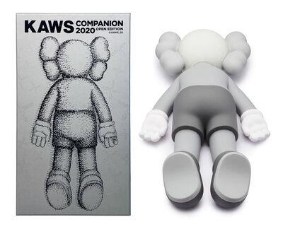 KAWS, 'Companion 2020 (Grey)', 2020
