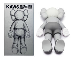 KAWS, 'Companion 2020 (Grey)', 2020