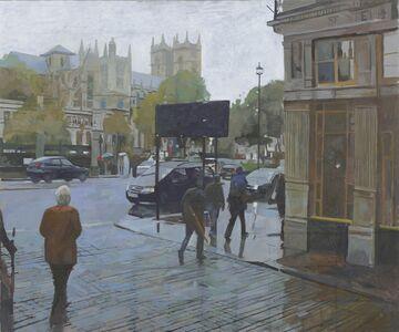 Ken Howard, 'From Westminster Station I', 2020