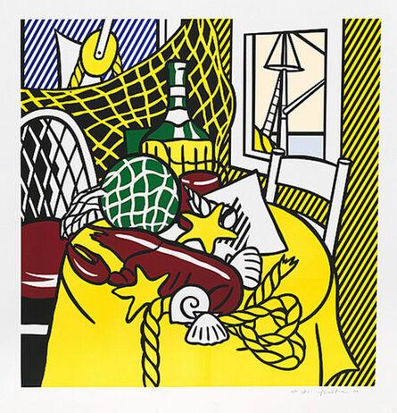 Roy Lichtenstein, 'STILL LIFE WITH LOBSTER', 1974