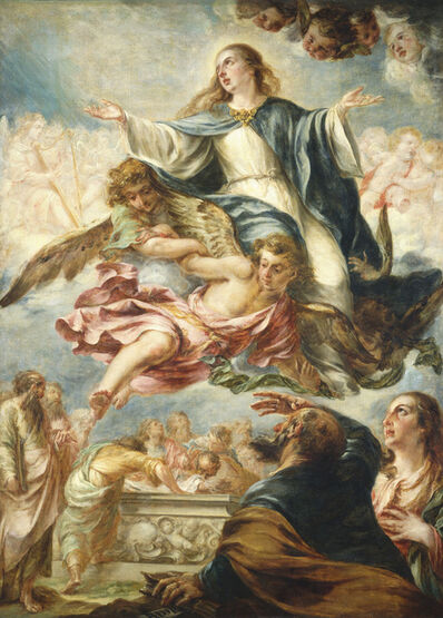Juan de Valdés Leal, 'The Assumption of the Virgin', ca. 1658/1660