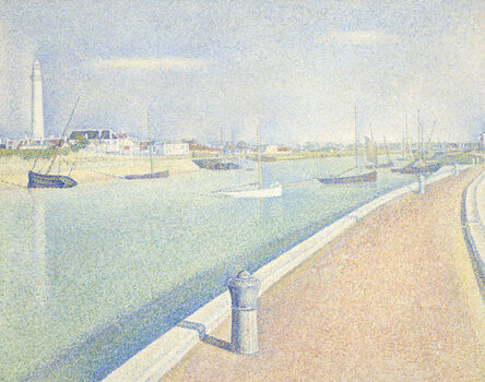 Georges Seurat, 'The Channel of Gravelines, Petit Fort Philippe', 1890