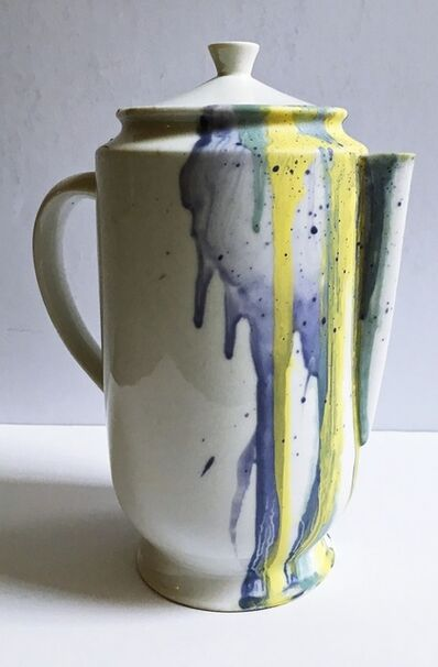 Helen Frankenthaler, 'Limited Edition Hand Painted Pitcher (Jug) for the Whitney Museum', 1998