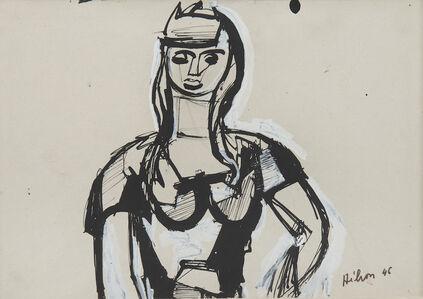 Jean Hélion, 'Portrait de femme', 1946